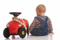 Mim e meu carro Imagens de Stock
