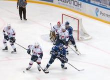 Mim Igumnov ( 56) contra P Bacik ( 5) Foto de Stock