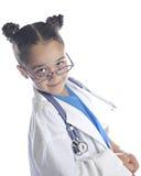 Mim ` m sua enfermeira amigável imagem de stock royalty free