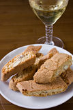 Mim toscani do cantucci - Cantucci de Toscânia () Foto de Stock Royalty Free