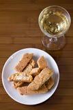 Mim toscani do cantucci - Cantucci de Toscânia () fotos de stock
