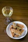 Mim toscani do cantucci - Cantucci de Toscânia () imagens de stock royalty free