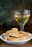 Mim toscani do cantucci - Cantucci de Toscânia (ELE) imagem de stock