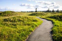 Mima Mounds Natural Area Preserve royaltyfria bilder