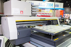 MIMAKI curing Royalty Free Stock Images