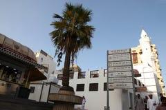 Mimar Pasha Mustafa Moschee in historischem Platz Dschidda Saudi-Arabien 15-06-2018 Dschidda-Albalads lizenzfreies stockbild