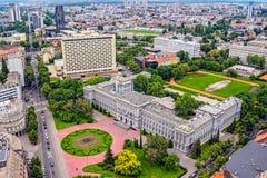 Mimaramuseum, Zagreb Stock Foto's