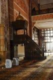 Mimbar de la mezquita de Putra en Malasia Fotos de archivo libres de regalías
