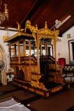 Mimbar de la mosquée ou du Masjid Tengkera de Tranquerah Images libres de droits