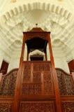 Mimbar de Sultan Ismail Airport Mosque - aéroport de Senai Photographie stock