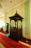 Mimbar of The India Muslim Mosque in Ipoh, Malaysia Royalty Free Stock Photo