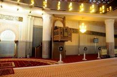 Mimbar Krajowy meczet Malezja a K masjid Negara Zdjęcia Stock