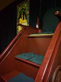 Mimbar - Preekstoel in Moskee Stock Foto's