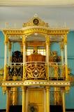 Mimbar of The Sultan Ibrahim Jamek Mosque Royalty Free Stock Photo