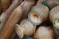 Mimbre de bambú Imagen de archivo libre de regalías