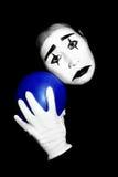 mime λυπημένος Στοκ Εικόνες