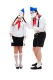 mime πλεξίδων Στοκ Εικόνα