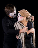 The mime Royalty Free Stock Photo