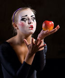 The mime Stock Photo
