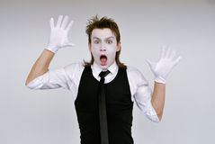 Mime Royalty Free Stock Photos