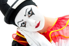Mime act Royalty Free Stock Photography