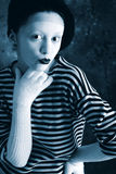 Mime actress Stock Photography