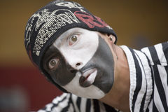 Mime artist Stock Photo