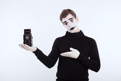 The mime boy Royalty Free Stock Photo