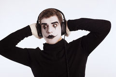 The mime boy Royalty Free Stock Image