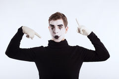 The mime boy Royalty Free Stock Photography