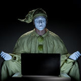 Mime on internet Royalty Free Stock Image