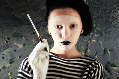 Mime sailor Stock Images