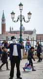 Mime in Venice Stock Images