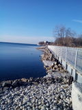 Mimico Waterfront and Bicycle Trail Stock Image