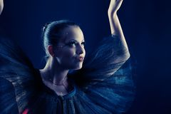 Mimicry. Shot of an expressive ballet dancer Royalty Free Stock Photography