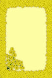 mimosa рамки иллюстрация штока