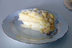 Mimosa cake Royalty Free Stock Images