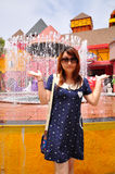 Mimosa City Royalty Free Stock Image