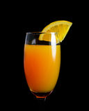 Mimosa cocktail glass Stock Image
