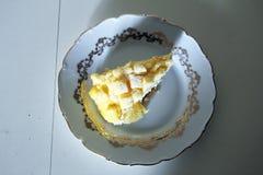 Mimosa pie Stock Photo