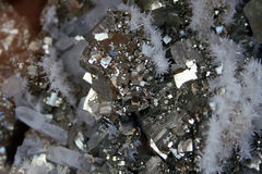 Minério de ferro Imagem de Stock
