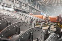 Minério-molho e empresa do processamento Fotografia de Stock