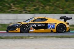 12 minérios Hankook Mugello 18 de março de 2017: Extremo do GP #27, Renault RS01 GT3 Foto de Stock Royalty Free