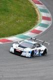 12 minérios Hankook Mugello 18 de março de 2017: Motorsport da coleção do carro #34, Audi R8 LMS Imagem de Stock Royalty Free
