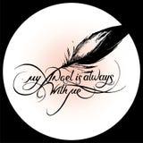 Min ängel är alltid med me_5 Royaltyfri Bild