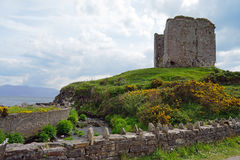 Min Aird Castle Royalty Free Stock Photography