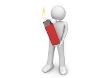 min brandlampa Fotografering för Bildbyråer
