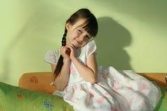 min doughter Royaltyfri Bild