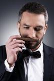 Min favorit- cigarr Royaltyfri Fotografi