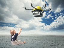 min framtid Arkivfoton